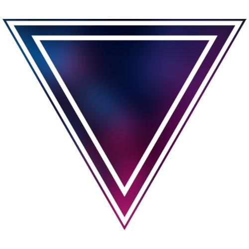 Blue and Purple (Bokeh) - Männer Premium T-Shirt