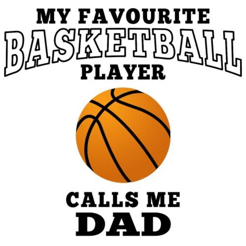 dad's favourite basketball player - Männer Premium T-Shirt