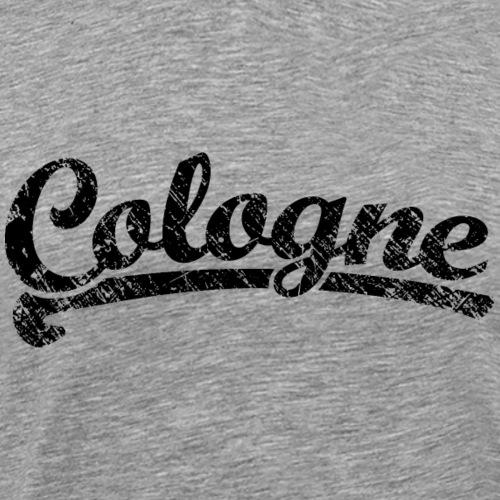 Cologne Classic Vintage Schwarz - Köln Design - Männer Premium T-Shirt