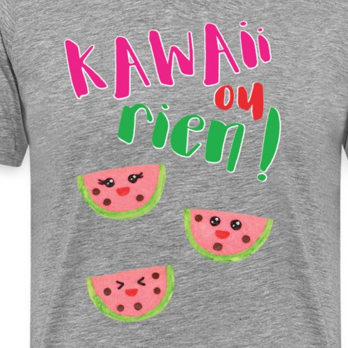 KAWAII OU RIEN - BISCUITS KAWAII PASTEQUE - T-shirt Premium Homme