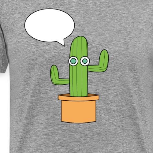 Le cactus. - T-shirt Premium Homme