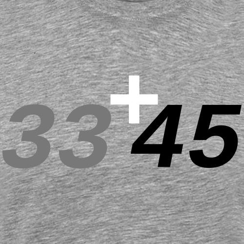 33 45 RPM - Männer Premium T-Shirt