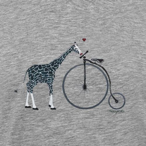 giraffe in love - Männer Premium T-Shirt