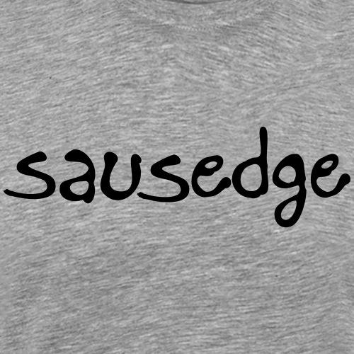 Sausedge Script print - Premium-T-shirt herr