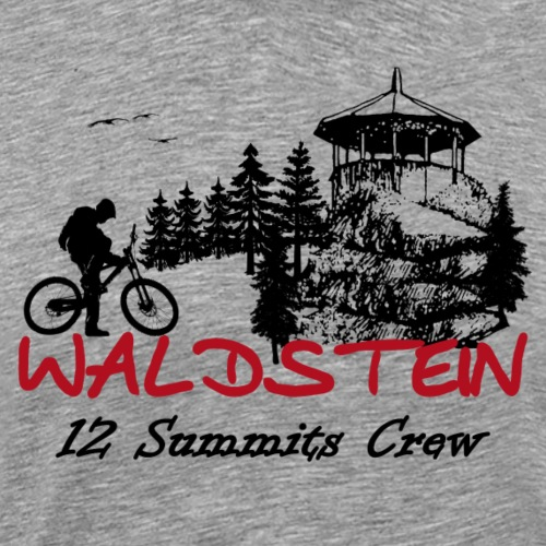 Waldstein ein Gipfel der 12 im Fichtelgebirge - Männer Premium T-Shirt