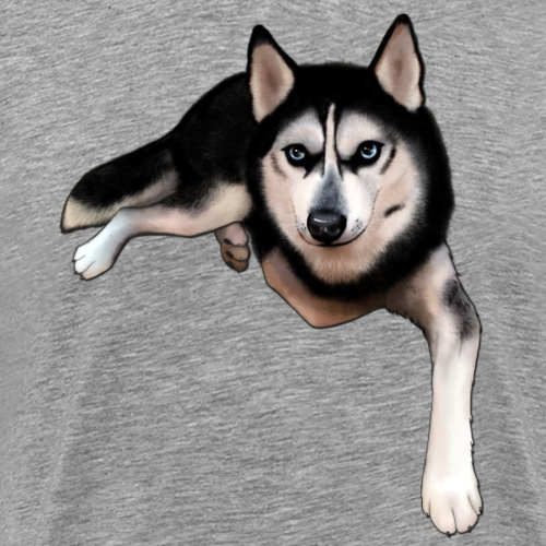 Husky - Men's Premium T-Shirt