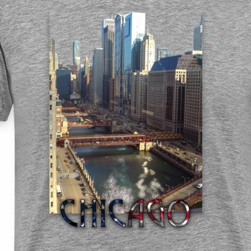 Chicago 3 - Männer Premium T-Shirt