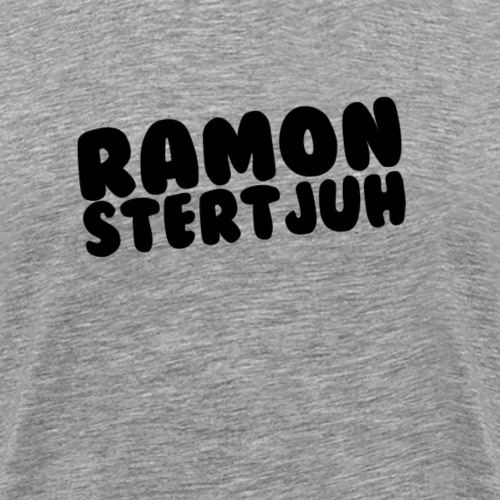 Ramonstertjuh Items met lettertype: Bubblegum! - Mannen Premium T-shirt