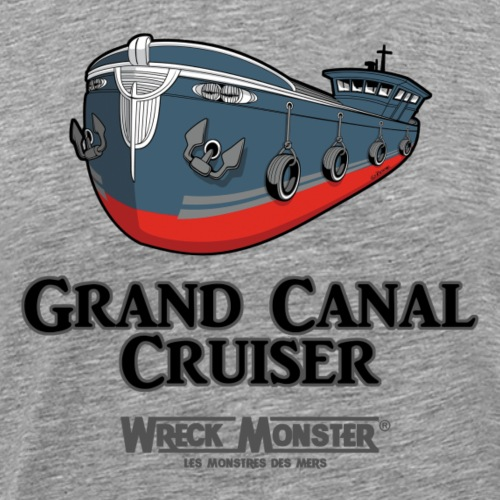 Grand Canal Cuiser - T-shirt Premium Homme