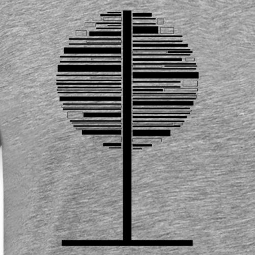 árbol - Camiseta premium hombre