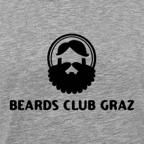 beardsclub t-shirt - Männer Premium T-Shirt