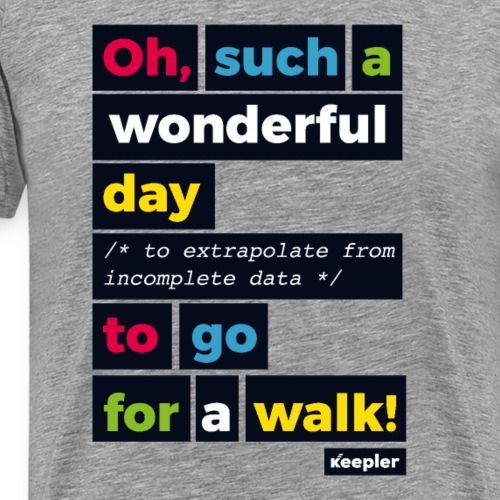 Wonderful Day - Camiseta premium hombre