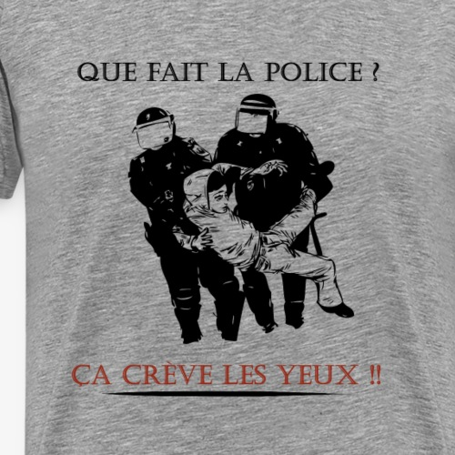 Contre les violences policières - T-shirt Premium Homme