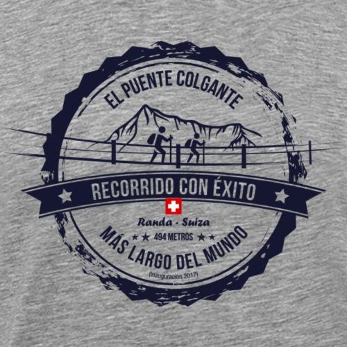 Puente colgante más largo del mundo (es) - Männer Premium T-Shirt