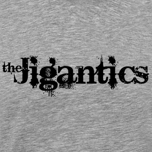 The Jigantics - black logo - Men's Premium T-Shirt