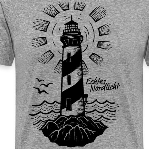 Echtes Nordlicht - Männer Premium T-Shirt