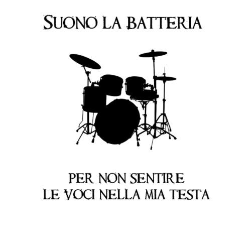 Batterista - Maglietta Premium da uomo
