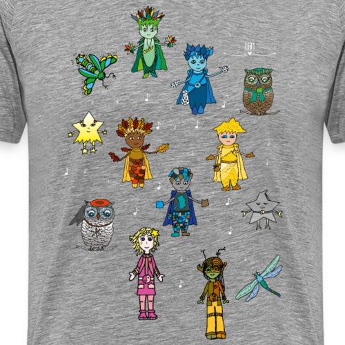 magische Wesen - Männer Premium T-Shirt