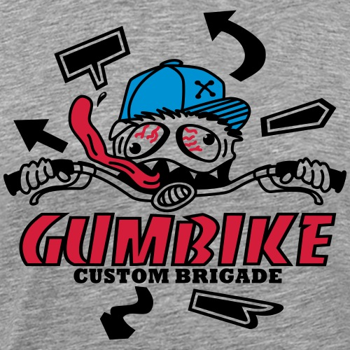 gumbike-monster - T-shirt Premium Homme