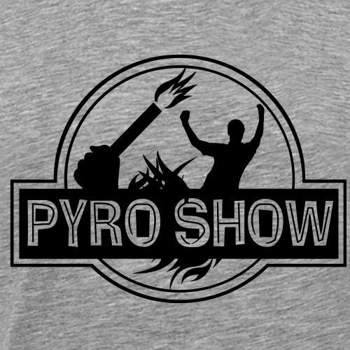 PYROSHOW - Pyrotechnik legalisieren SW - Männer Premium T-Shirt