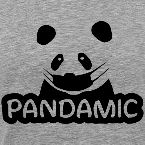 Pandamic Panda - Männer Premium T-Shirt