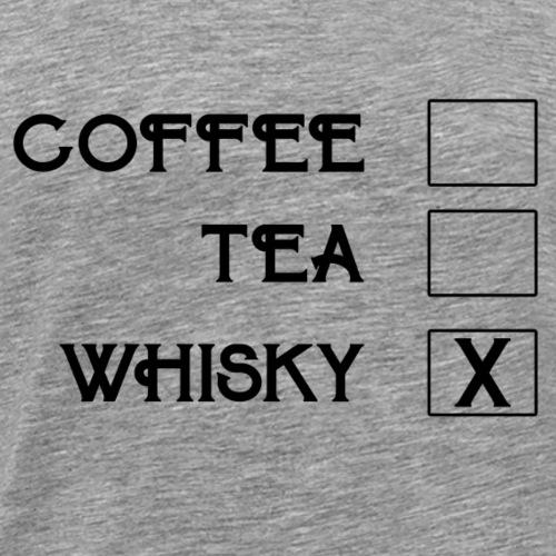 Tick whiskey - gift idea - Men's Premium T-Shirt