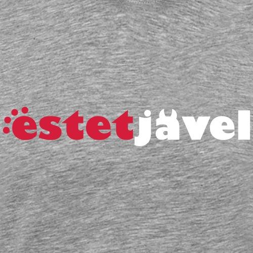 ESTETJÄVEL - Premium-T-shirt herr