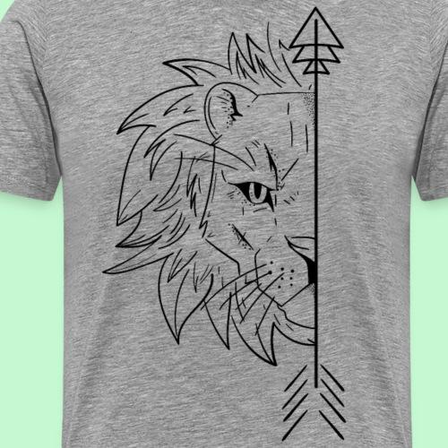 leon Novios 1/2 - Camiseta premium hombre