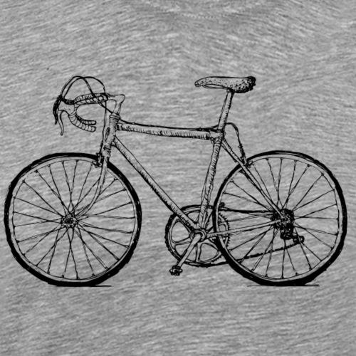 Rennrad ohne Text - Männer Premium T-Shirt