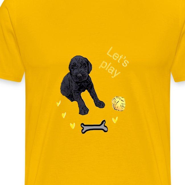 Giant Schnauzer puppy