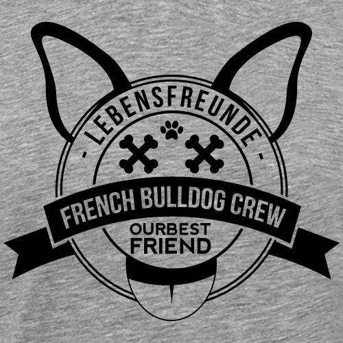 French Bulldog Crew - Französische Bulldogge - Männer Premium T-Shirt