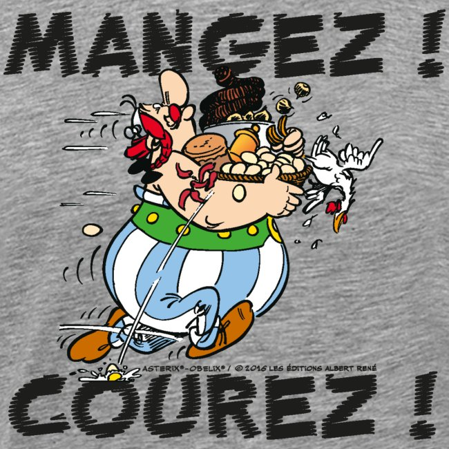 Obélix - Mangez! Courez!