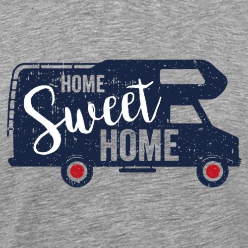 Home sweet Home - Camper blau - Männer Premium T-Shirt