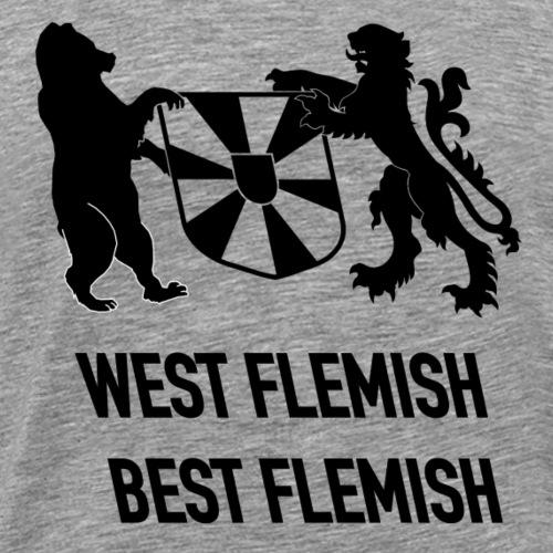 west flemish best flemish - Mannen Premium T-shirt