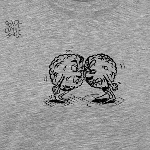Due cellule arrabbiate - Maglietta Premium da uomo