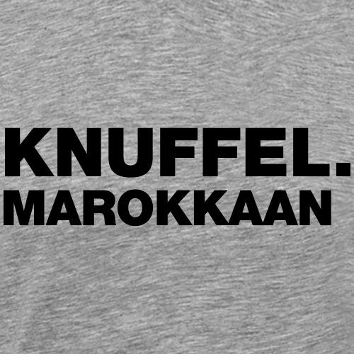 KNUFFEL MAROKKAAN - Mannen Premium T-shirt