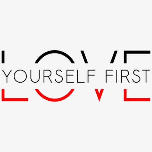Love yourself first - Koszulka męska Premium