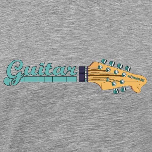guitar5 2 - Männer Premium T-Shirt