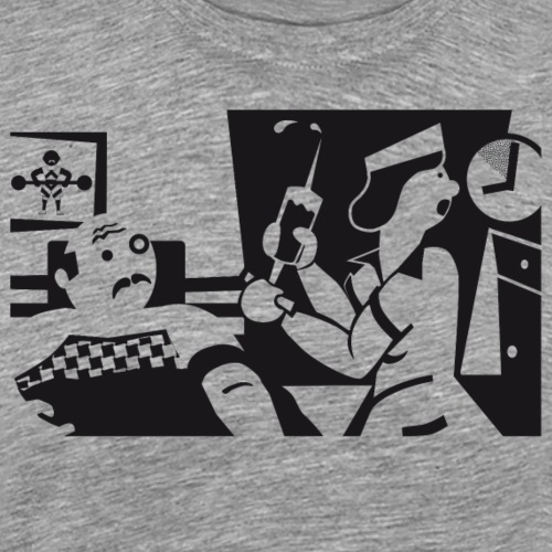 Krankenpflegerin - Männer Premium T-Shirt