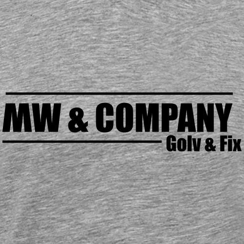 MW & COMPANY (LOGO) - Premium-T-shirt herr