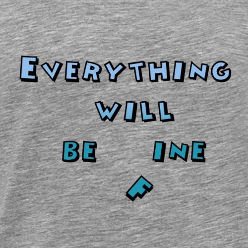 Enillo Alles wird gut - Männer Premium T-Shirt