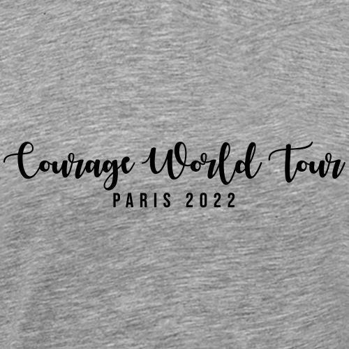 Courage world tour - T-shirt Premium Homme