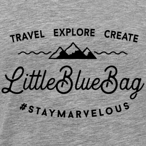 travel explore create logo black - Männer Premium T-Shirt