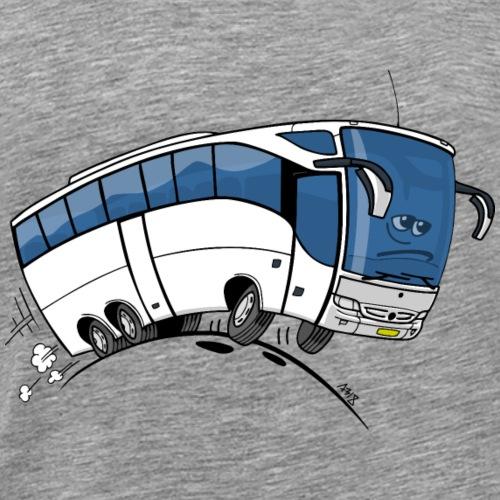 0711 bus - Mannen Premium T-shirt