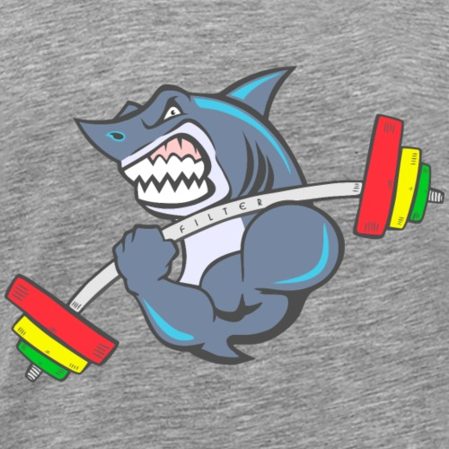 Shark Cross-fit - Maglietta Premium da uomo