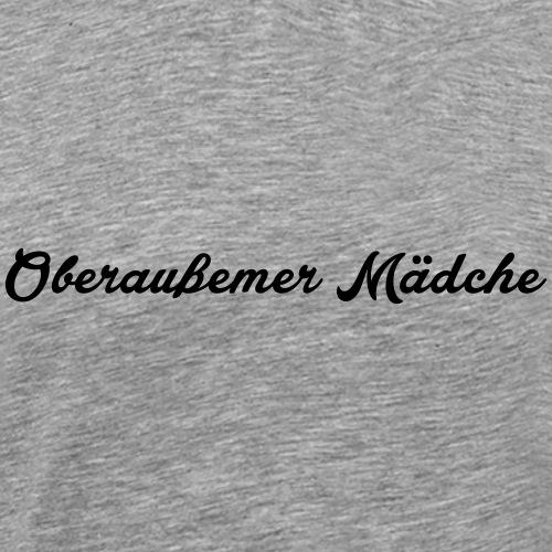 Oberaußemer Mädche - Männer Premium T-Shirt