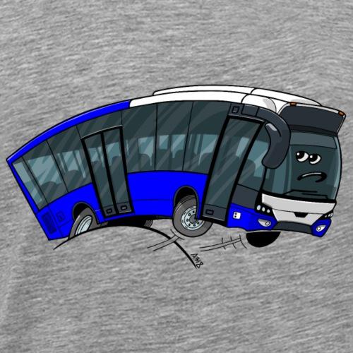 0712 bus - Mannen Premium T-shirt