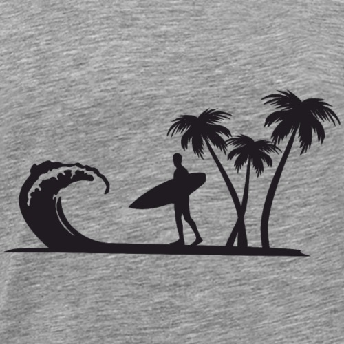 surf and palms - T-shirt Premium Homme