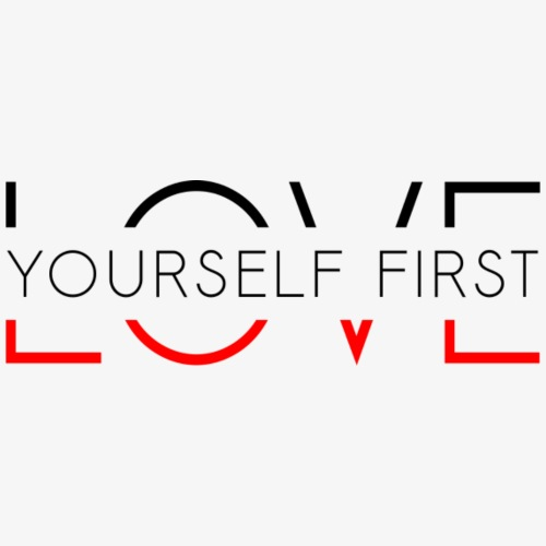 Love yourself first - Koszulka męska Premium