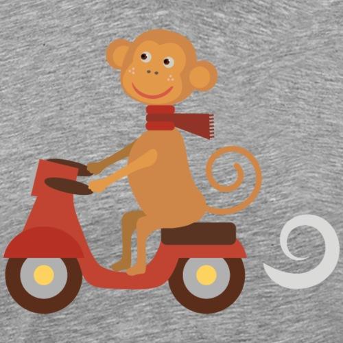 112016603 143207942 affe - Männer Premium T-Shirt